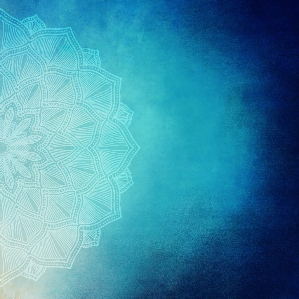gratis 5 minuten reading, mandala blauw, healingpraktijk Jordy