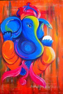Ganesha, obstakels overwinnen , hindoeisme