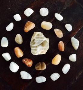 mandala edelsteen, healing, inzicht