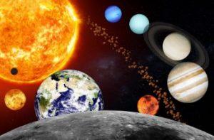 turbulente groei, kosmos